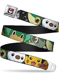 Buckle Down unisex-adult Buckle-down Seatbelt Belt Pokemon Regular
