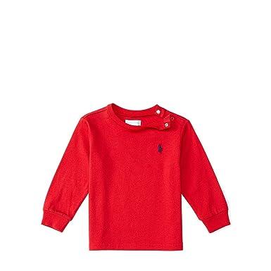 bac272466 Ralph Lauren Baby Boy Long Sleeve T Shirts Authentic (24m) White ...