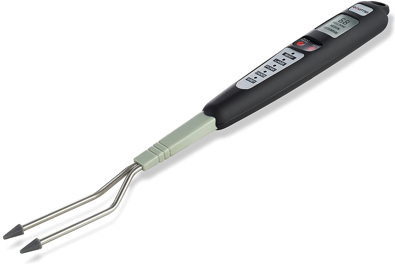 Gourmia GTH9170 Digital Meat Fork Thermometer Perfect for Grilling, Barbecue & Home Kitchen 41 x 4.2 x 2.8 cm