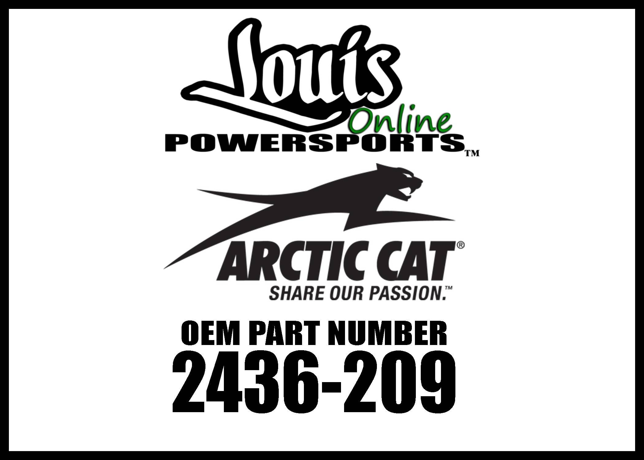 Arctic Cat 2436-209 Wildcat Trail/Sport Quick-Attach Plow Mounting Kit by Arctic Cat