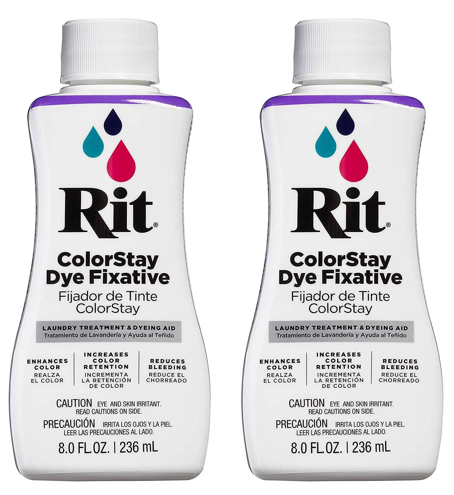Rit ColorStay Dye Fixative. 2-Pack