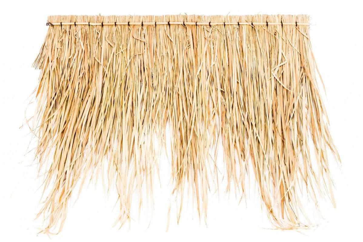 Panel para el techo con hojas de palmera de NaDeco, aprox.100 cm, techo de hojas de palmera, techo de bambú, con palmas: Amazon.es: Hogar