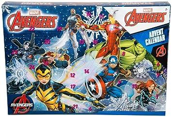 Marvel Calendrier.Bargains Galore Calendrier De L Avent De Marvel Avengers