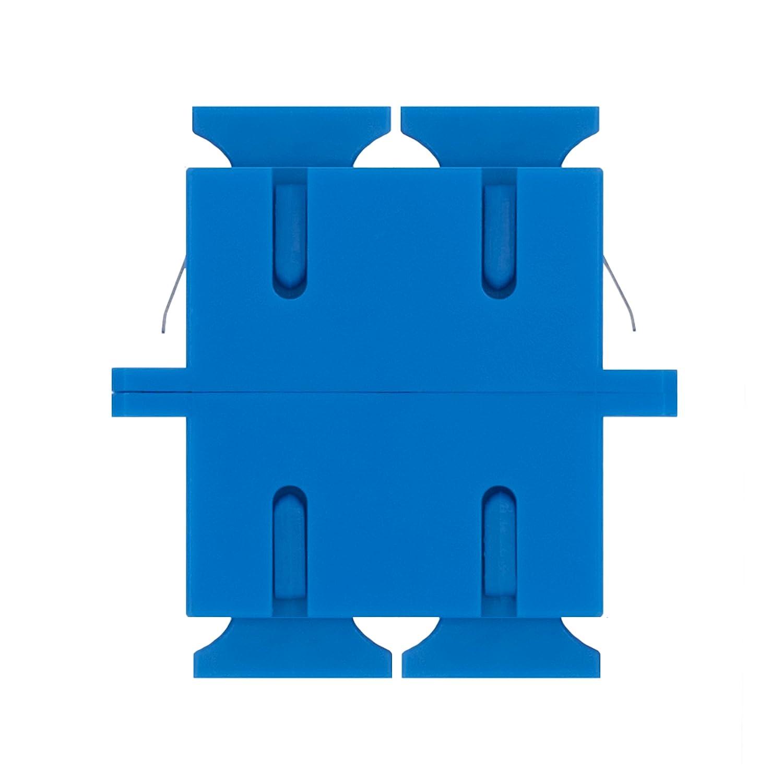 Raccords Kit Adaptateur pour fibre optique LC vers LC Monomode UPC Simplex Lot de 5 Beyondtech Travers/ées Fibre Optique
