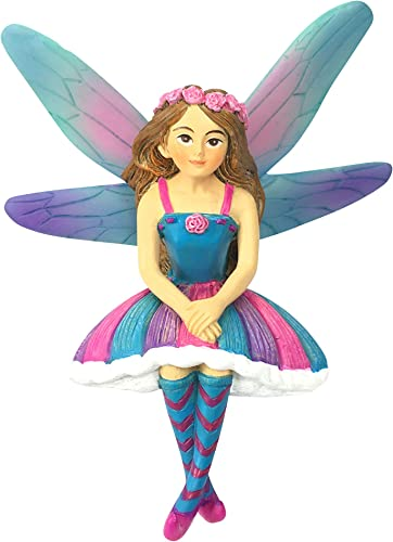 GlitZGlam Emilie The Miniature Fairy of Azar for Your Fairy Garden Miniature Garden