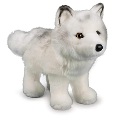 Douglas Snow Queen Arctic Fox Plush Stuffed Animal: Toys & Games