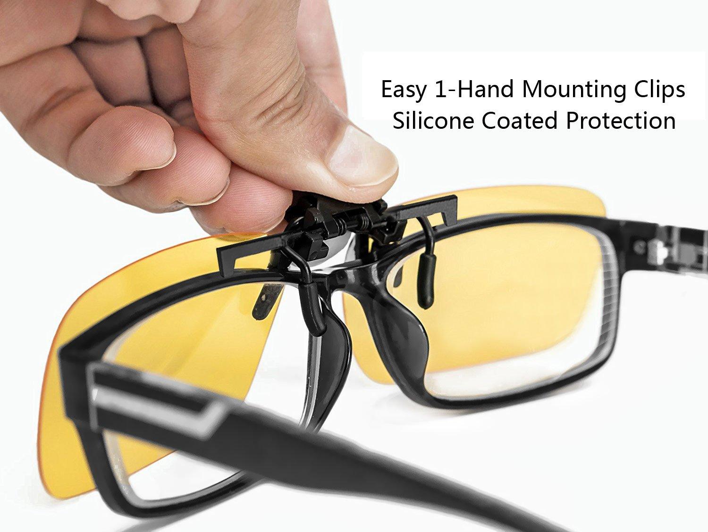 Sonnenbrillen Clip, Ubegood Sonnenbrille Aufsatz Polarisierende ...