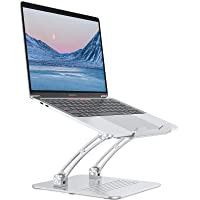 Laptop Stand Adjustable, OMOTON Ergonomic Aluminum Computer Holder with Cooling Function, Compatible with MacBook Pro…