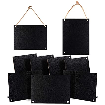 Pizarras con base de madera, color Big Iron Chalkboards ...
