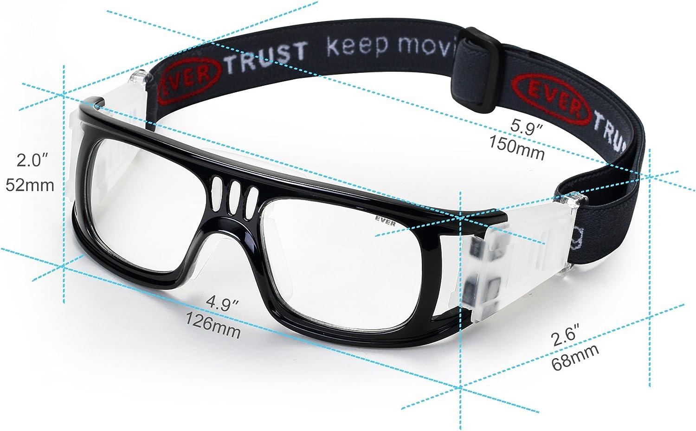 Lunettes de protection des yeux de s/écurit/é en silicone souple et confortable