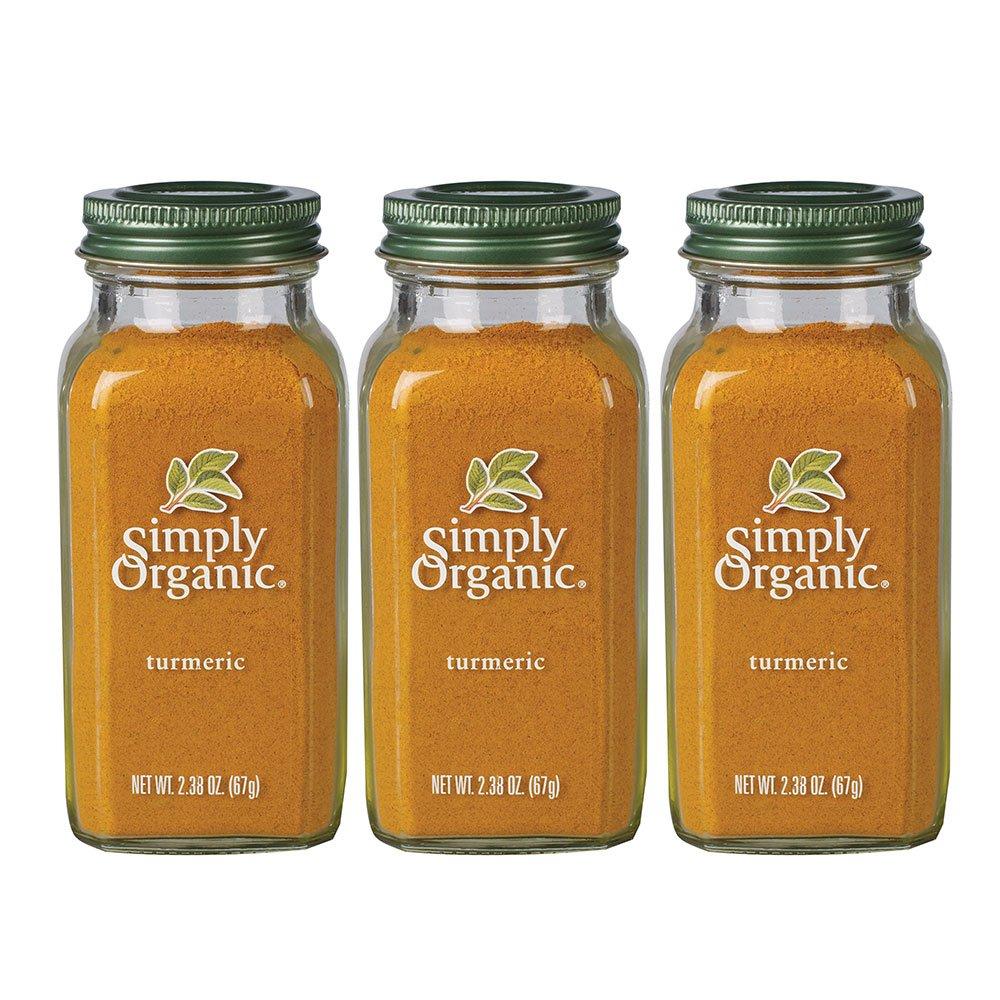 Simply Organic Ground Turmeric (3 Pack)