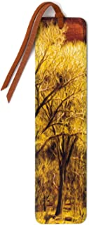 product image for Personalized Old Tree Color Photograph by Mike DeCesare with Brushstroke Touch Up on Wooden Bookmark with Suede Tassel - Search B07SHVW9V9 for Non Personalized Version