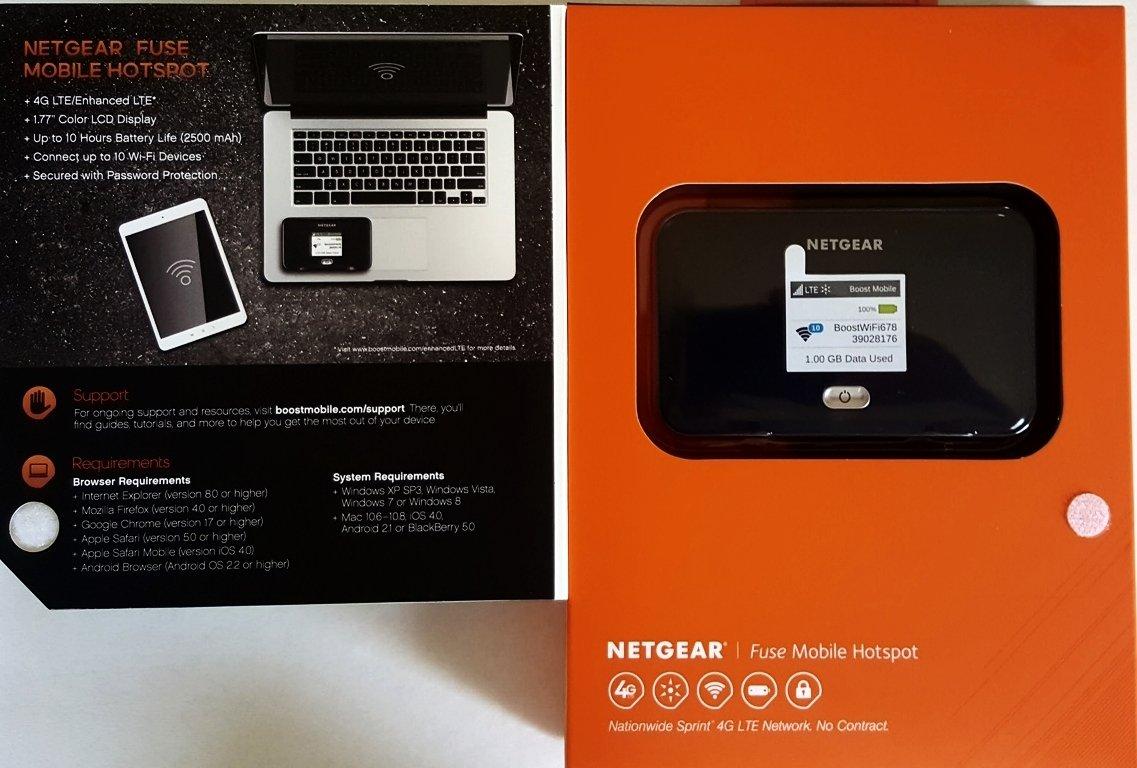 Netgear 4G LTE Boost Mobile Hotspot