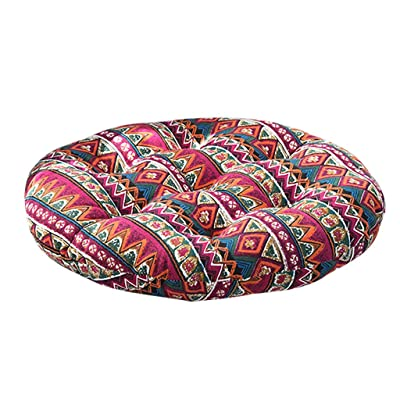 Chair Cushion Indoor Outdoor Garden Patio Home Kitchen Office Cotton Chair Seat Soft Cushion Pads for Dining Chairs: Home & Kitchen