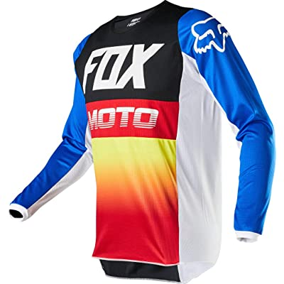 Fox Racing 180 Fyce Jersey - (Small) (Blue/Red): Fox Racing: Clothing
