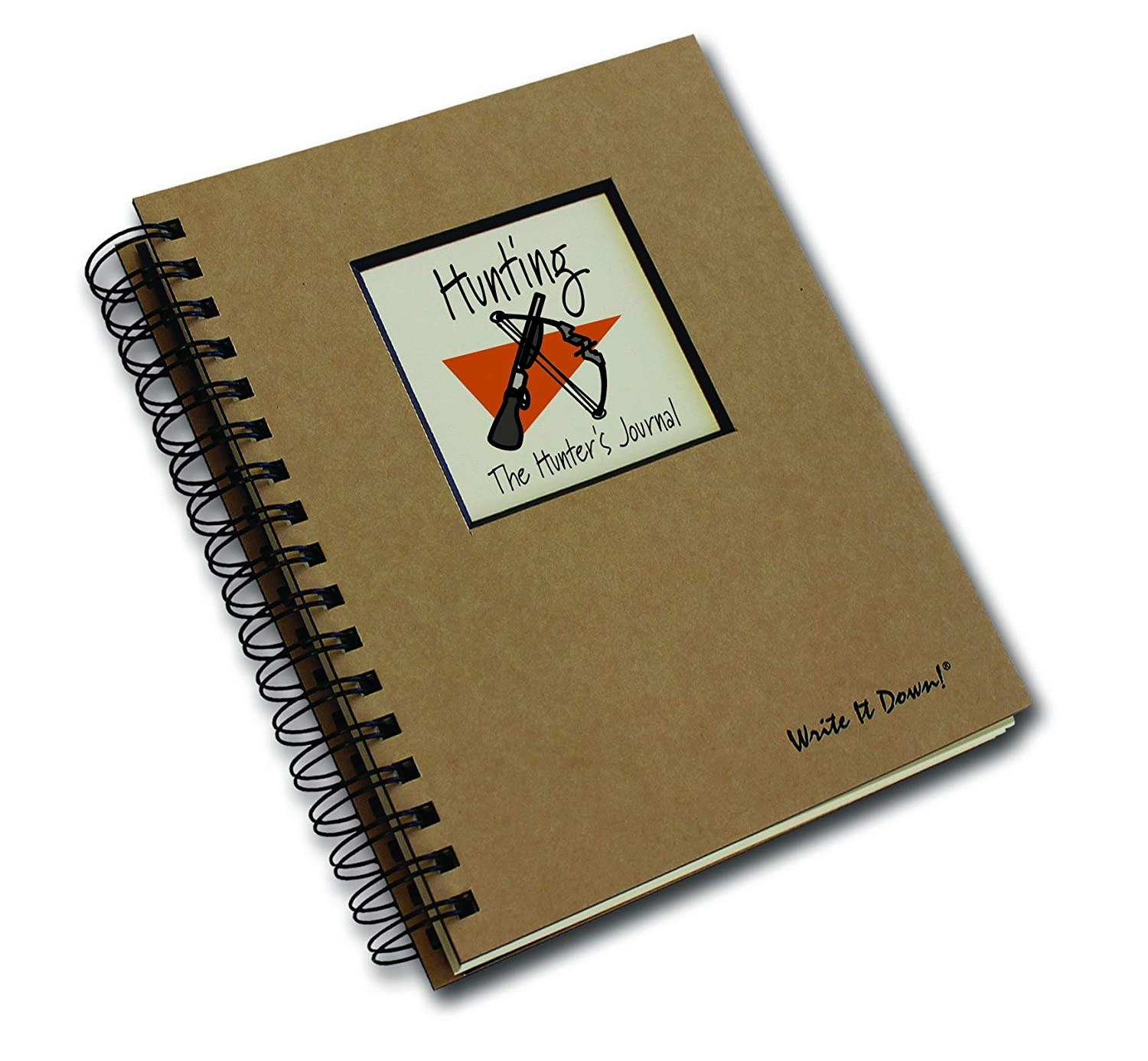 Hunting, The Hunter's Journal - Kraft Brown Hard Cover (prompts on every page, recycled paper, read and more) The Hunter' s Journal - Kraft Brown Hard Cover (prompts on every page Journals Unlimited JU-12