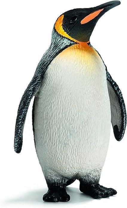 Schleich 14617 - Figura/ miniatura La vida silvestre, el rey pingüino: Amazon.es: Juguetes y juegos