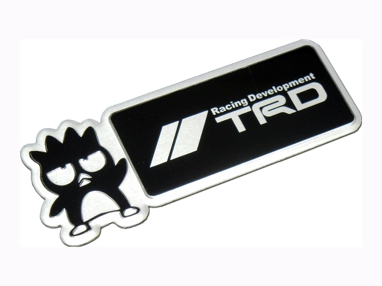 Toyota TRD Emblem Big Black badge sticker decal Logo Supra TC JDM NEW 3D
