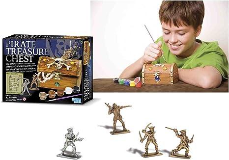 4M - Juego Cofre Tesoro: Amazon.es: Juguetes y juegos