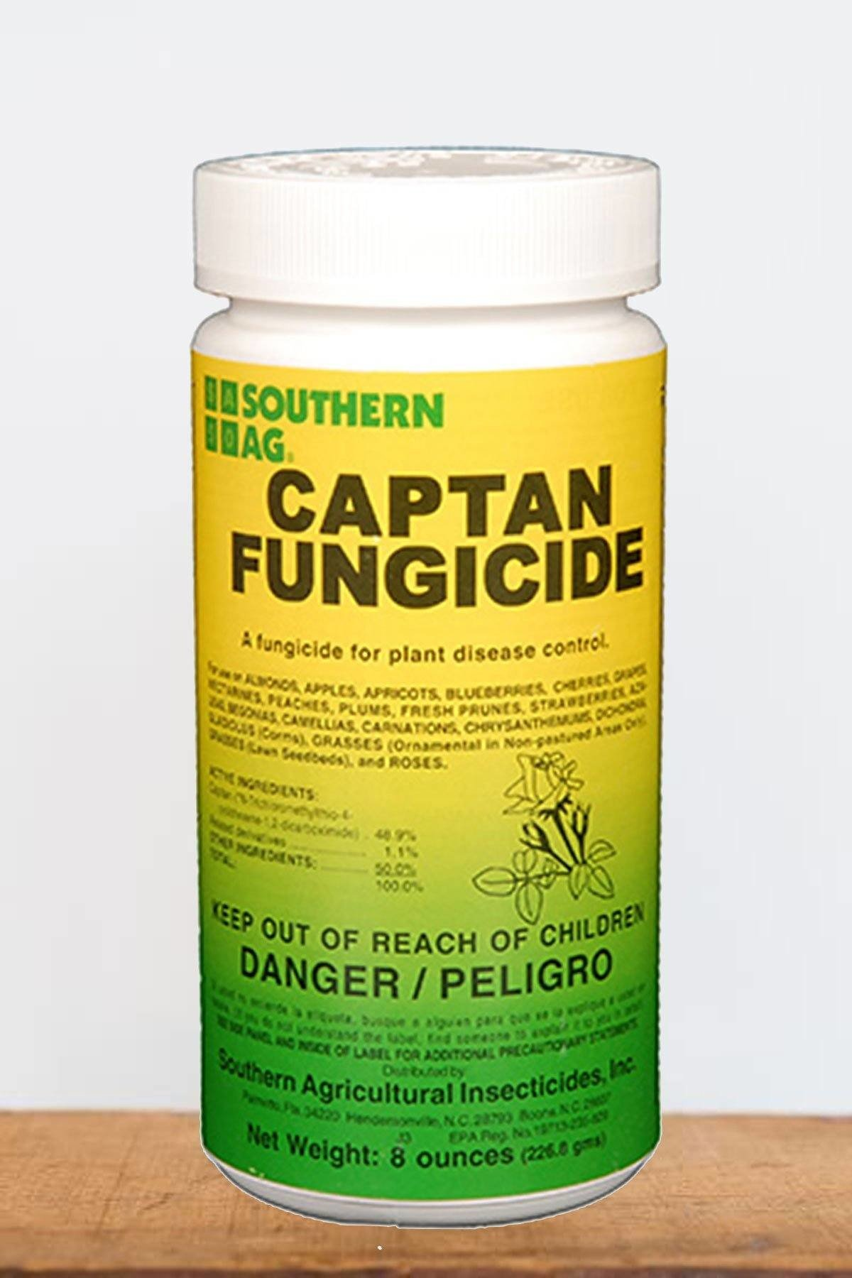 Southern Ag Captan 50% WP Fungicide, 8 Oz