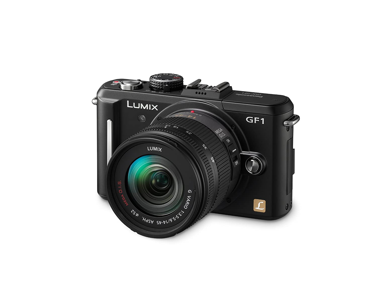 Panasonic Lumix Dmc Gf1 121mp Micro Four Thirds Camera Flash Circuit There Is Only One Simple Connection To The Interchangeable Lens Digital With 14 45mm Compact System Cameras