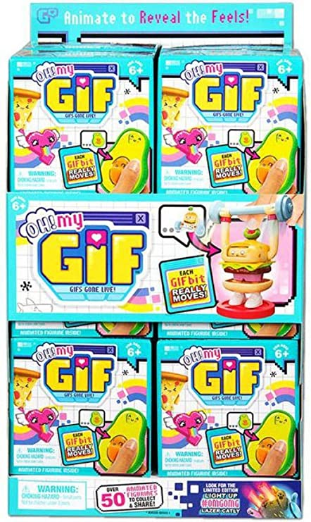 MY GIF Moose Toys BIT Pack GIFS GONE LIVE Animated Figure Choose Your Own OH