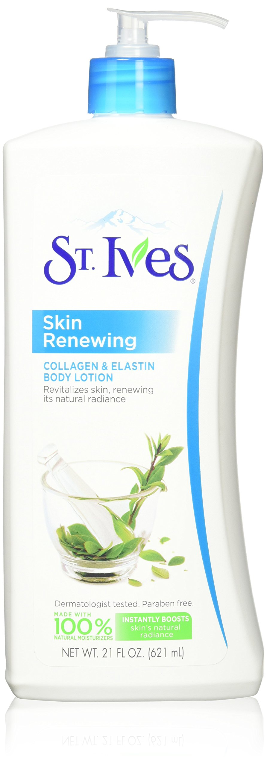 St. Ives Skin Renewing Body Lotion Collagen Elastin 21 oz(Pack of 2) by St. Ives