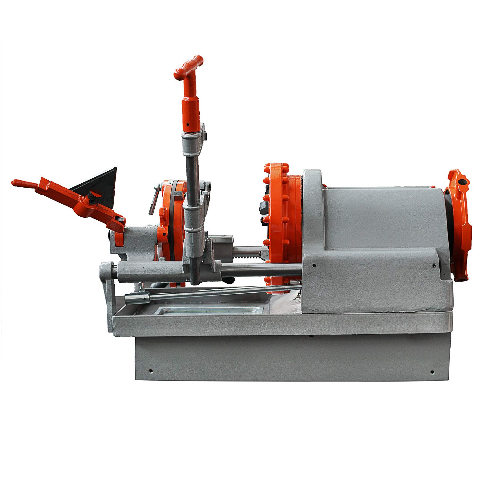 Mophorn Electric Pipe Threading Machine 1/2''-4'' Pipe Threading Cutter 750W Deburrer NPT P100 Upstanding by Mophorn (Image #2)