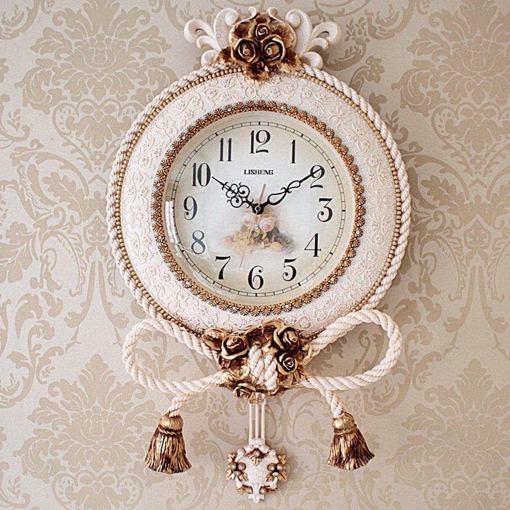 ALUP壁時計クリエイティブモダンパーソナリティデコレーションリビングルームホームプラスチック B07F264J8R