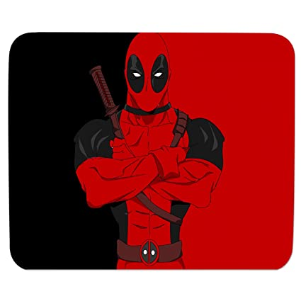 Best Mouse Pads For Laptop Deadpool Print Gaming Work