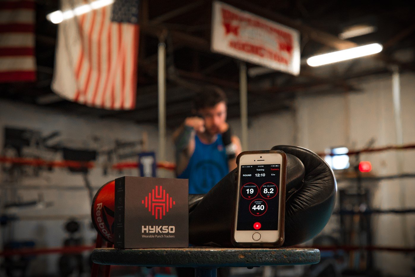 Boxing, Martial Arts & Mma Sporting Hykso Wearable Punch Tracker Sporting Goods