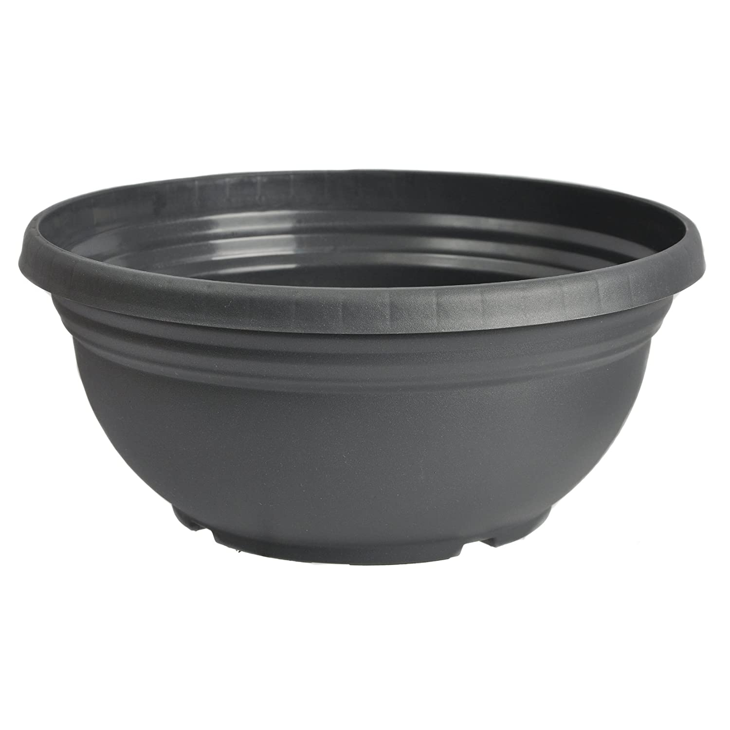 5 Orion Anthracite colour Bulb Bowls 27cm diameter