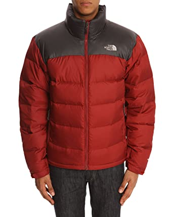 7dff28cfd84b The North Face - Down Jackets - Men - Nuptse 2 Red and Grey Down Jacket for  men - XL  Amazon.co.uk  Clothing