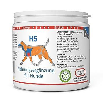 ww7 H5 Fórmula Natural para Vigor, músculos & tranporte de Perros -300g