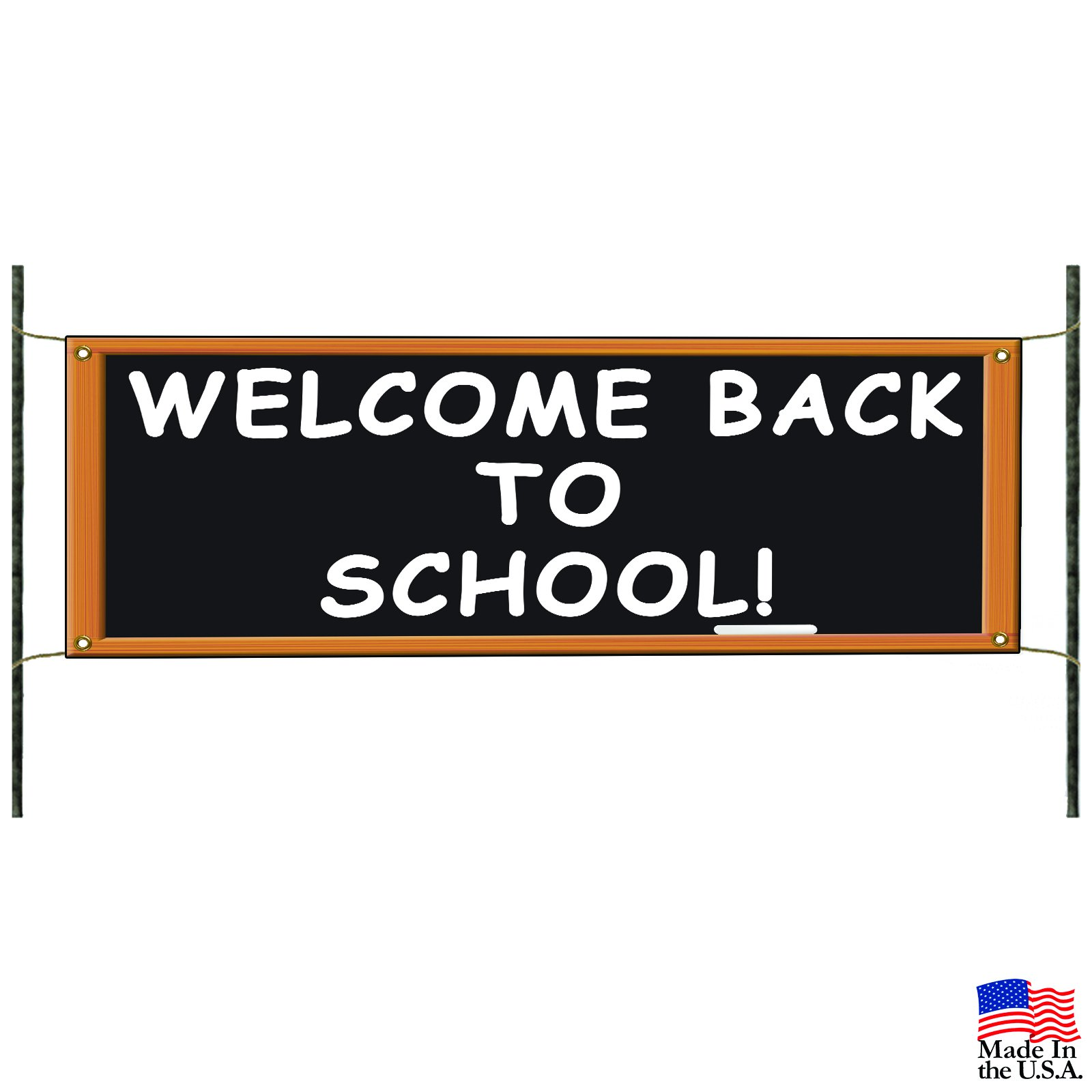 Welcome Back to School Classroom Teacher Student Custom Banner Sign