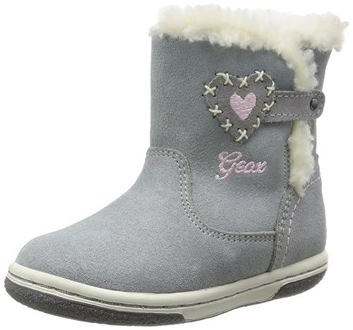 80eff4d4 Geox B Flick Girl H-Scam - Primeros Pasos de Cuero Bebé - niña: Amazon.es:  Zapatos y complementos