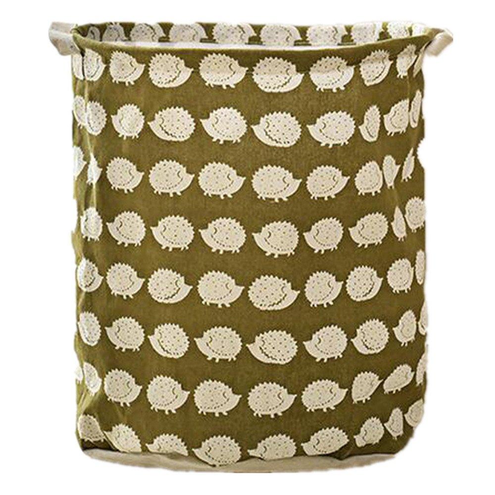 Cartoon Baby Toys Storage Case Canvas Bags Bear Laundry Basket Drawstring Bags Hedgehog xiangshang