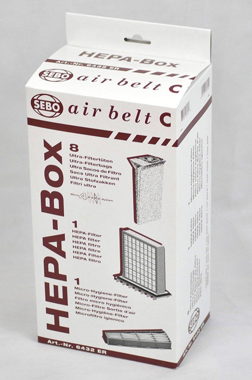 SEBO Vacuum HEPA Service Box C by Sebo