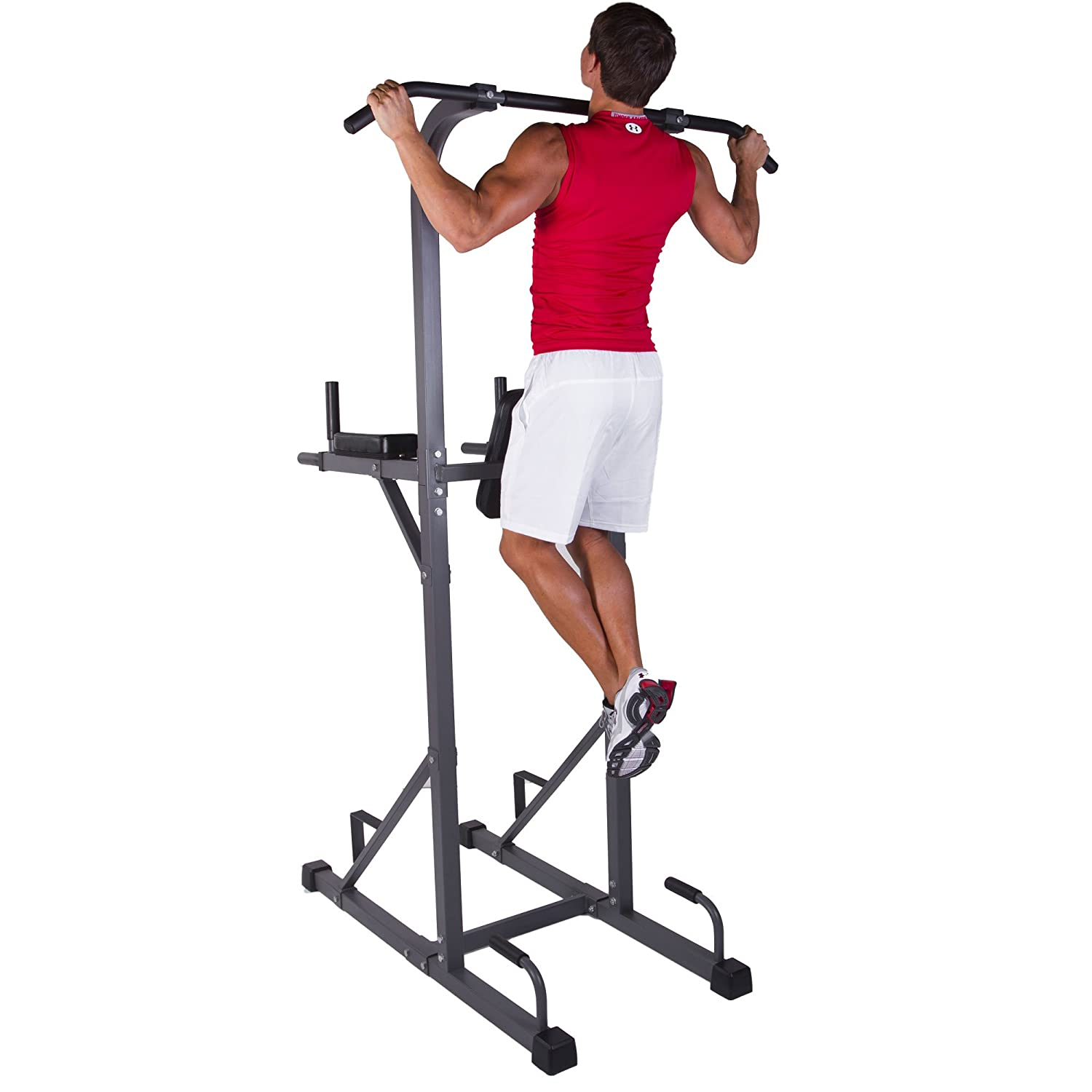 XMark Power Tower with Dip Station - Pull Up