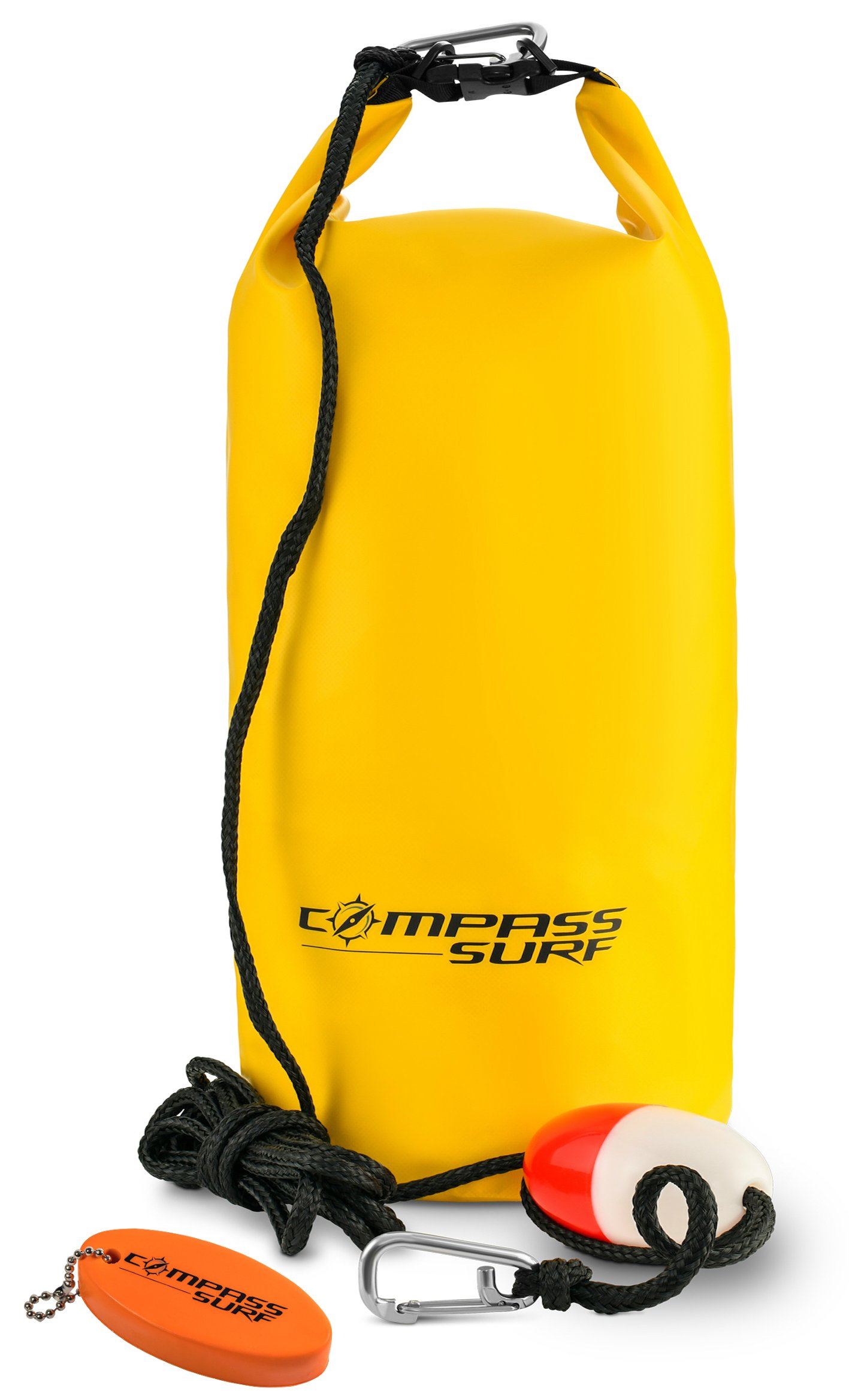Compass Surf XL Sand Anchor Kit for Kayaks, Jet Skis, and Boats. Includes 15 feet of marine grade rope, buoy, stainless steel clip, and keychain float.