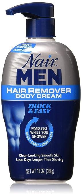 Nair Men Hair Removal Body Cream 13 oz by Nair: Amazon.es ...