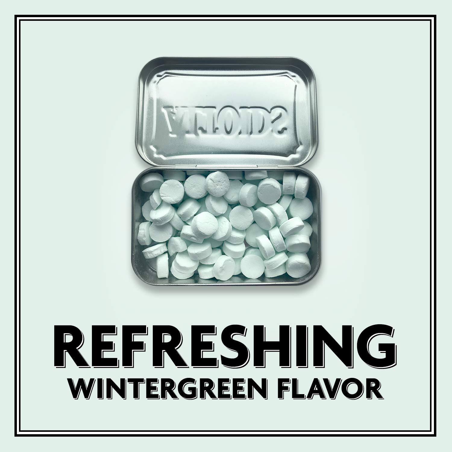 ALTOIDS Classic Wintergreen Breath Mints, 1.76-Ounce Tin (Pack of 12) by Altoids (Image #7)