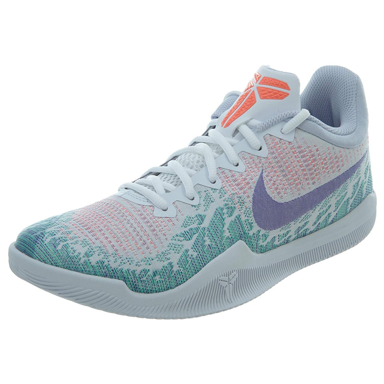 MultiCouleure (blanc Hyper Grape vert Glow 001) Nike Mamba Rage, baskets Basses Homme 41 EU