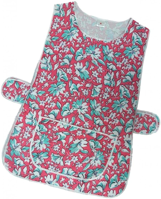 White pinafore apron ebay - Ladies Floral Uk Made Tabards Navy Turquoise Royal Pink 6 Sizes