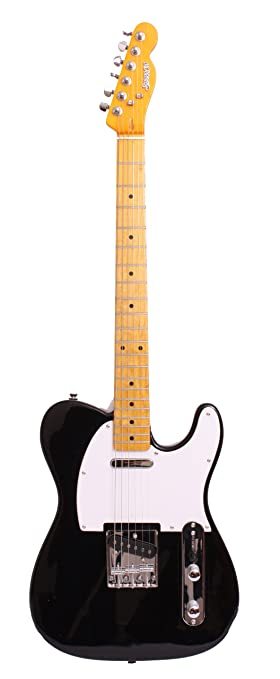 SPARROW TWANG PRO BLACK NO ART Guitarra eléctrica: Amazon.es ...