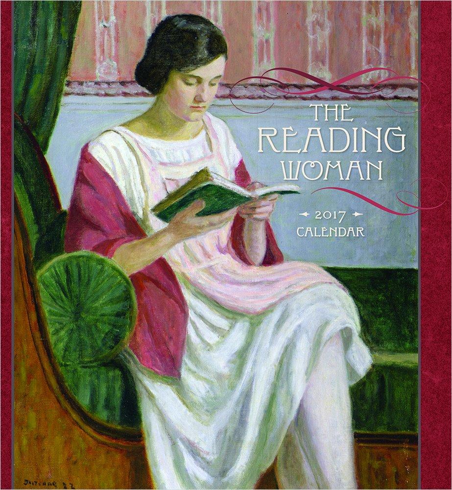 2017 the reading woman wall calendar inc pomegranate