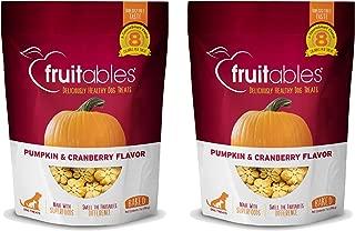 product image for Fruitables Baked Dog Treats Pumpkin & Cranberry Flavor (2 Pack) 7 oz Each