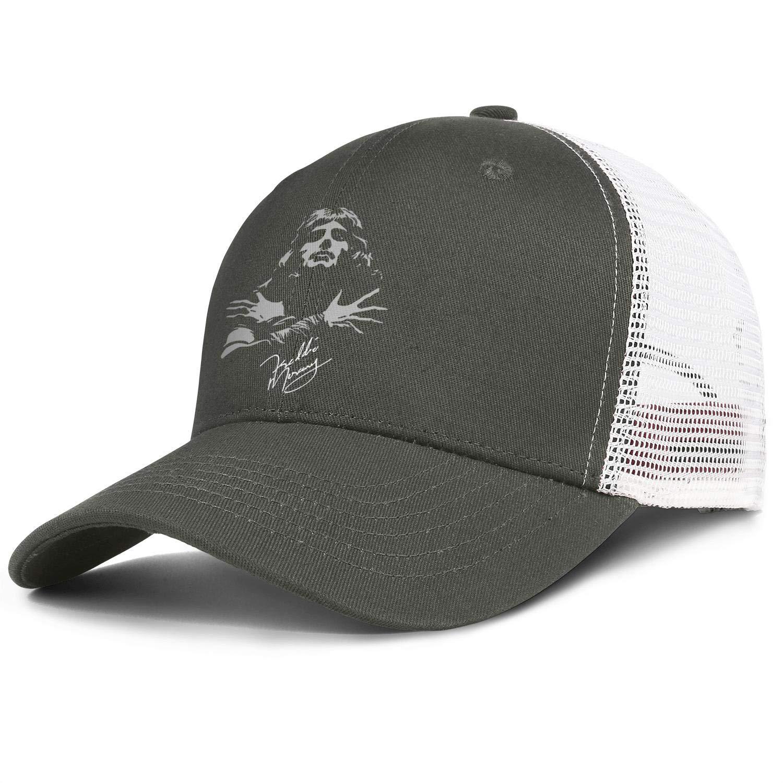 Cap Cool Hats Sports Caps MUSOWIC Man Women Queen-Band-Autograph-Sign