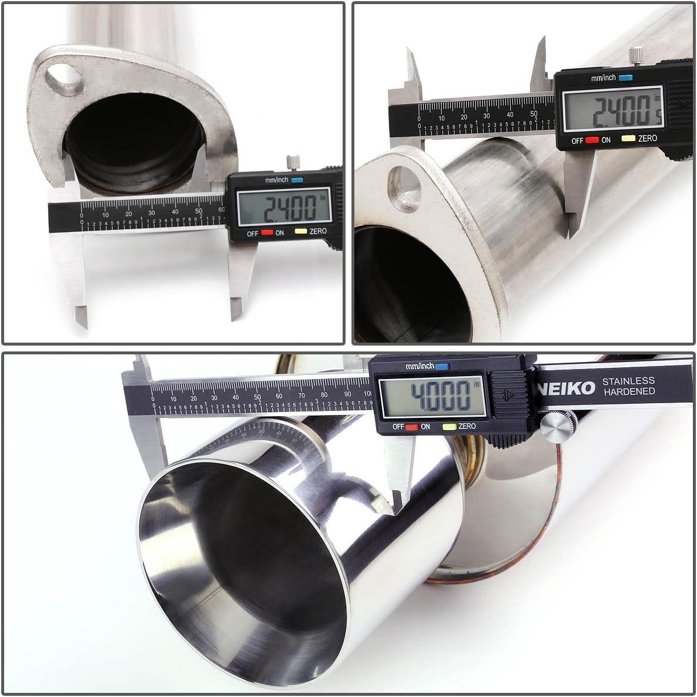 for 07-08 Tiburon 2.7L V6 DNA Motoring CBE-HT07V6-NRT Catback Exhaust System