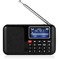 Radioddity Raddy RF28 FM Pocket Radio with Flashlightd